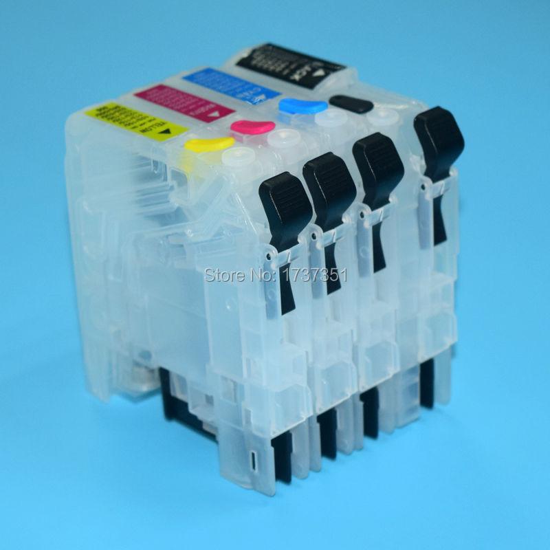 LC103 Заправляемый чернильный картридж для Brother MFC-J4510 J450 J285 J470 J475 J650 J870 J875 J4610 J4310 J4410 J4710 J6520 J6720 J152W