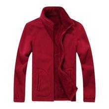 B Plus Size M-8XL Winter Mens Softshell Fleece Casual Jackets Men Warm Sweatshirt Thermal Coats Solid Thickened Brand Clothing