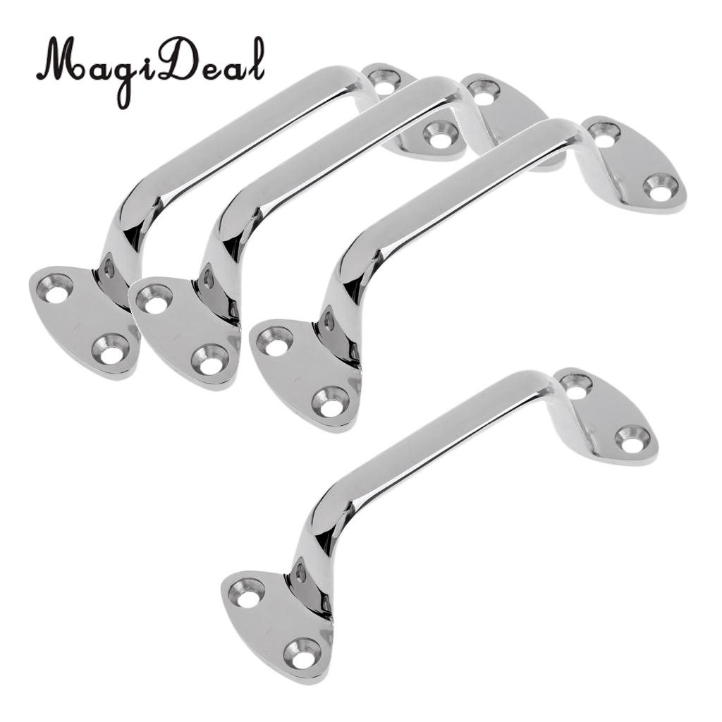 "Boat Transom Door Hatch Grab Handle Hand Rail 24/"" 316 Marine Stainless Steel"