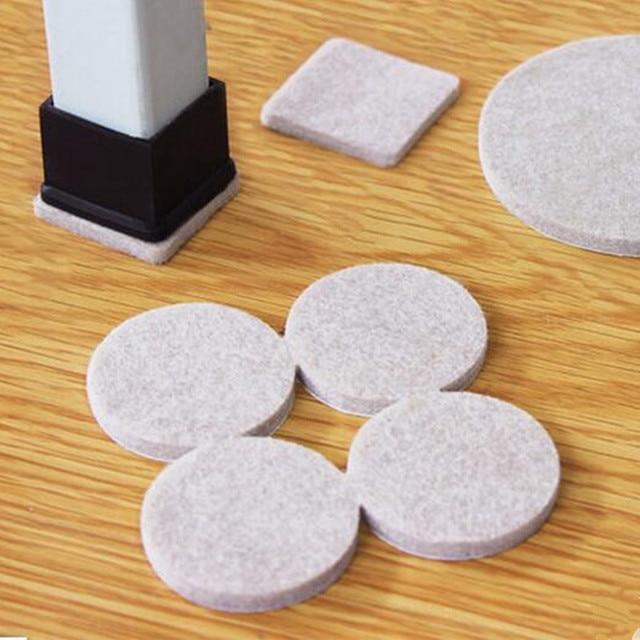 8 - 18pcs Multifunction self adhesive floor protectors furniture sofa table chair feet floor non-slip mat sticky pad.