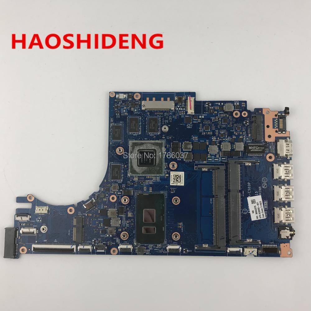 829900-601 LA-C503P Pour HP ENVY Portable 15-AE 15T-AE Mère D'ordinateur Portable avec 950 M 4 GB i7-6500U CPU, toutes les fonctions entièrement Testé!