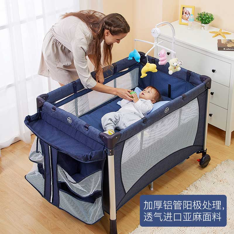 Coolbaby Game Bed Multifunctional Foldable Cribs Portable Bb Bed Europe Baby  Bed Children Cradle In Baby Cribs From Mother U0026 Kids On Aliexpress.com ...