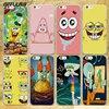 BiNFUL cute Patrick squidward Spongebob Stars hard clear Cases cover for Apple iPhone 7 6 6s Plus SE 4s 5 5s 5c