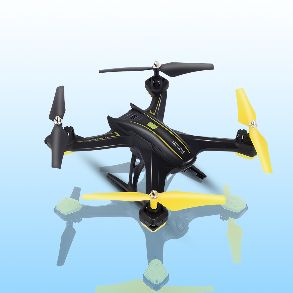 RC Drone With 120 Degree Wide-angle Camera HD 720P Camera Quadrocopter Wifi FPV HD Real-time 2.4G 4CH RC Helicopter RC Dron Toy