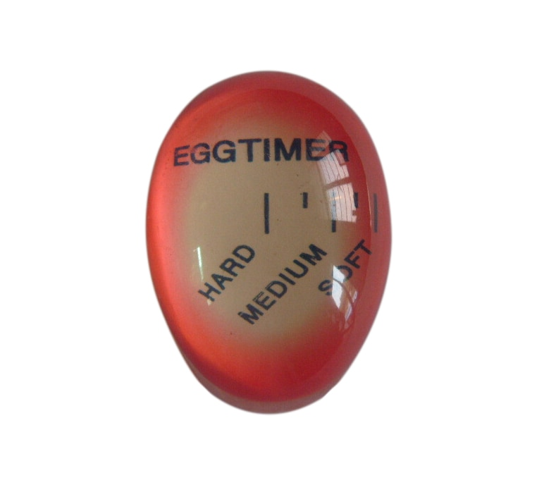 Colour Changing Egg Timer  Resin Material Perfect Boiled Eggs By Temperature Kitchen Helper(China)