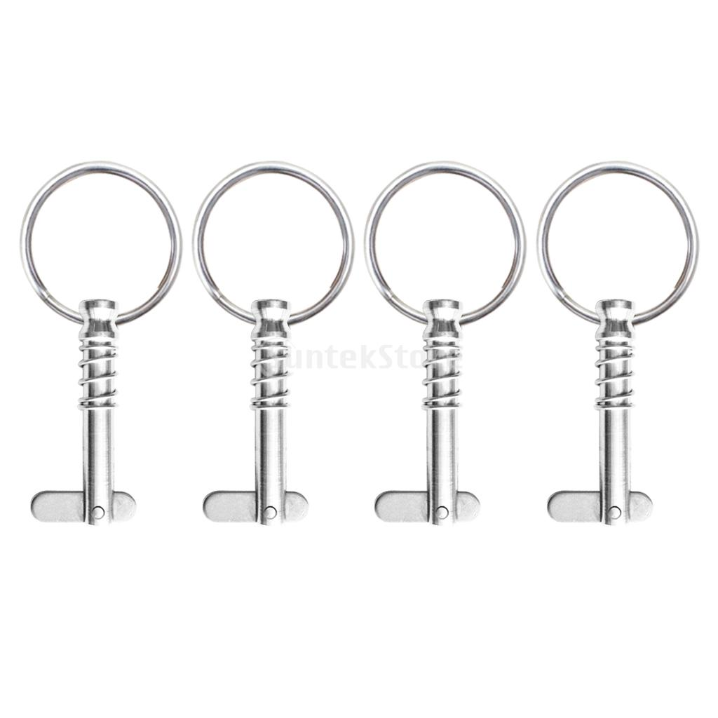 Stainless Steel Bimini Top Quick Release Pins Hardware for Boat Canvas Cover