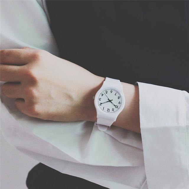 11.11 2017 women creative Fashion Simple Watch Small Fresh Soft Girl Watch Leisu