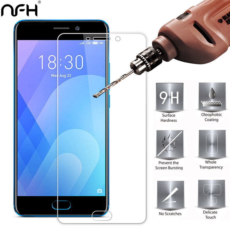 0.26mm Super Saver Tempered Glass For Meizu Me M2e M3e M3s M3 Note M5 Screen Protector Film Cover On M6 M6t M6s Protective Glass Reliable Performance