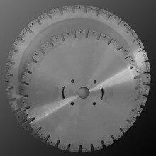 """1"""" 450 мм алмазные сегментированные пильные диски для влажной резки гранита"""