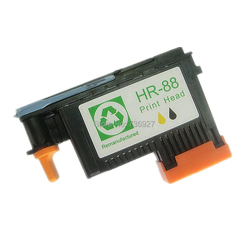 1X 88 printhead(Black/Yellow) for hp88 for hp Officejet Pro K550 K5400dn K8600 L7480 L7580 L7590 in printer parts C9381A 1x printhead for hp 564 officejet 5648 c5388 c6380 309a printer 4solt cb326 30002