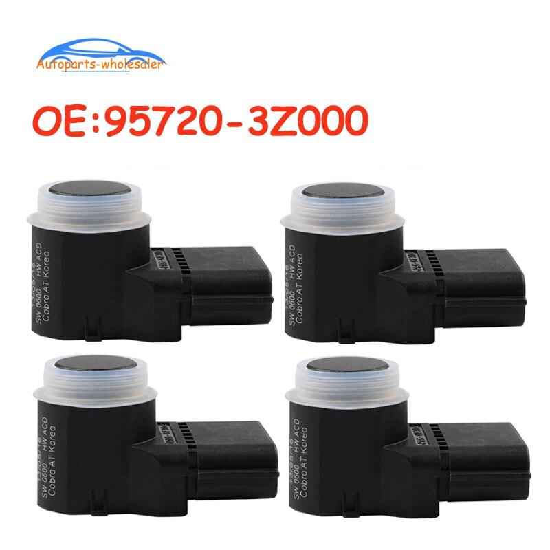 4 sztuk/partia czarny kolor nowy samochód czujnik parkowania pdc dla Hyundai i40 95720-3Z000 95720-2P500 4MT006KCB 4MT006HCD 957203Z000