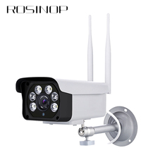 Rosinop Waterproof Surveillance Outdoor Camera IP Camera wifi Infrared Full Color 1080P CCTV camaras onvif Home Security IP Cam