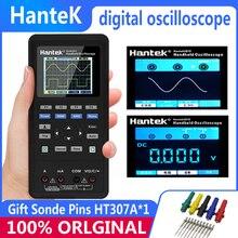 Цифровой осциллограф Hantek+ генератор сигналов+ мультиметр 2CH 40/70 МГц соединение USB осциллограф для ПК DSO 2D72 Besser Als rigol owon