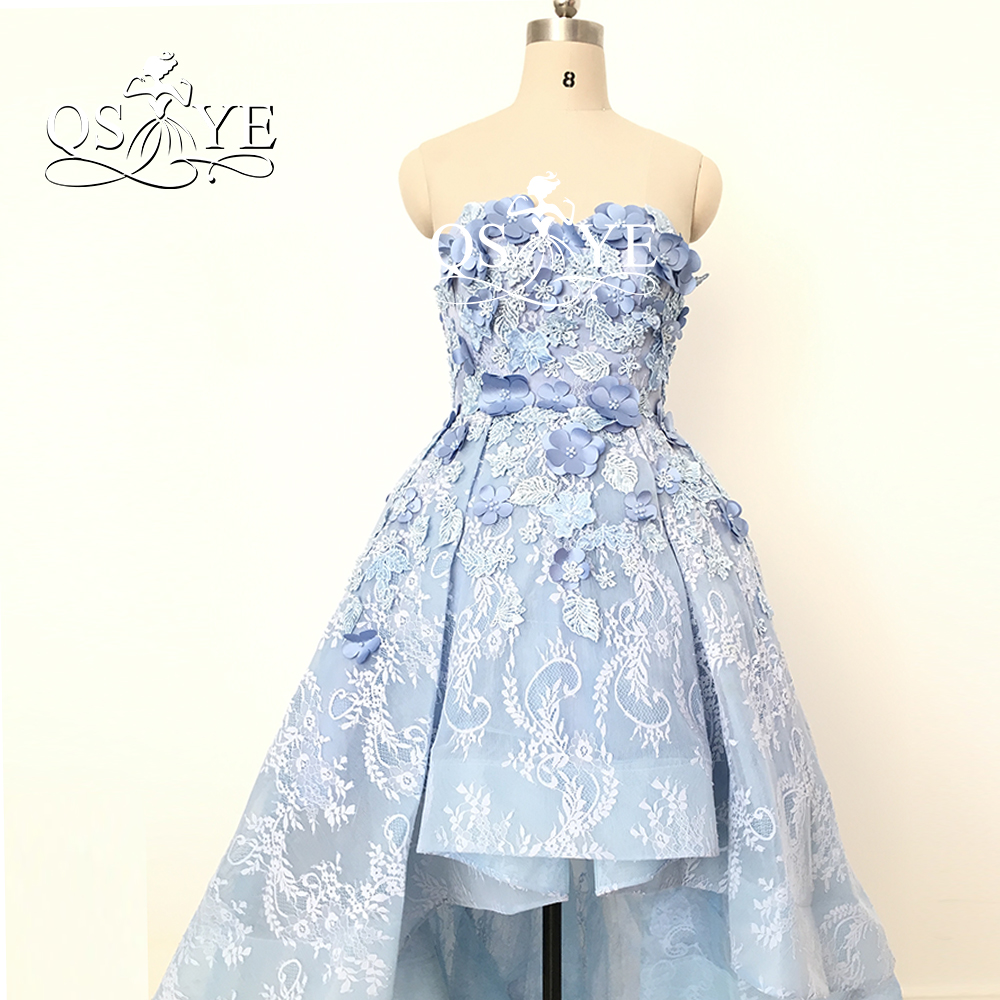 Sweetheart Sleeveless Vintage Arabic High Low   Prom     Dress   2017 Robe de Soiree Off the Shoulder Short Front Long Back Evening Gown