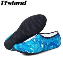 Пляжные спортивные носки для плавания, кроссовки для женщин и мужчин, для подводного плавания, Нескользящие, для занятий йогой, для серфинга дайвинга, обувь, камуфляжные резиновые сандалии