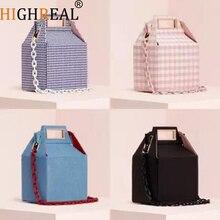 New Fashion Designer Women Shoulder Handbags Messenger Crossbody Bags Party Totes Bag Box