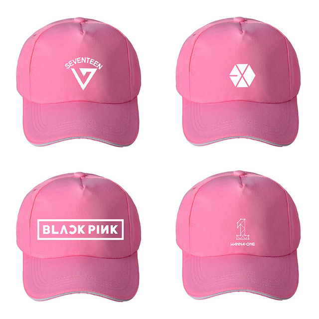 ONGSEONG KPOP EXO BLACKPINK SEVENTEEN WANNA ONE Album Baseball Cap Hip hop  Cap Men Women Hats JCF MZ002-in Baseball Caps from Apparel Accessories on  ... 18ee5be1cf6f