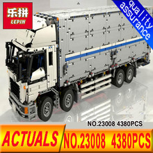 Lepin 23008 Technical Series 4380Pcs The MOC Wing Body Truck Set 1389 Educational Toys Building Block Bricks to Children Gift
