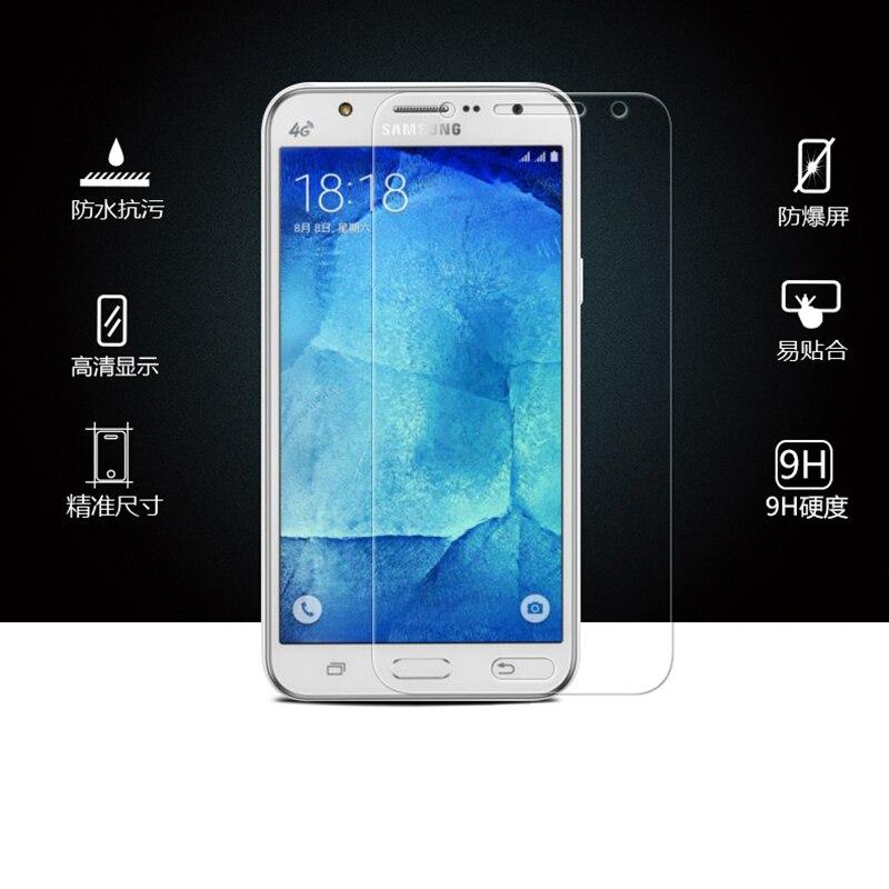 2.5D Arc Edge 0.26mm Hard Tempered Glass for Samsung Galaxy J1 J2 J3 J5 J7 2015 A5 A7 2016 Film Screen Protector film case cover