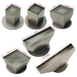 Uniwersalne dysze gorącego powietrza 15mm 20mm 25mm 30mm 35mm 45mm 50mm 55mm 75mm 120mm dla stacja lutownicza bga dolna podstawa średnica 60mm