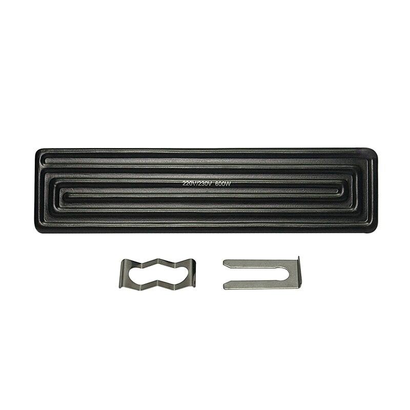 4 pcs 240x60mm 600 W plaque chauffante en céramique à fond infrarouge pour station de reprise BGA haut supérieur mch dans les pièces d'outils