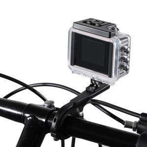 Image 4 - Alüminyum alaşım bisiklet bisiklet gidon Seatpost kelepçe dağı Gopro Hero 4 3 5 Xiaomi Yi 4K SJCAM kamera bisiklet klip kiti