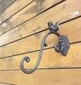 L: 26 см Лофт промышленный Ретро стиль чугун британская птица ветви цветочный горшок настенный крюк