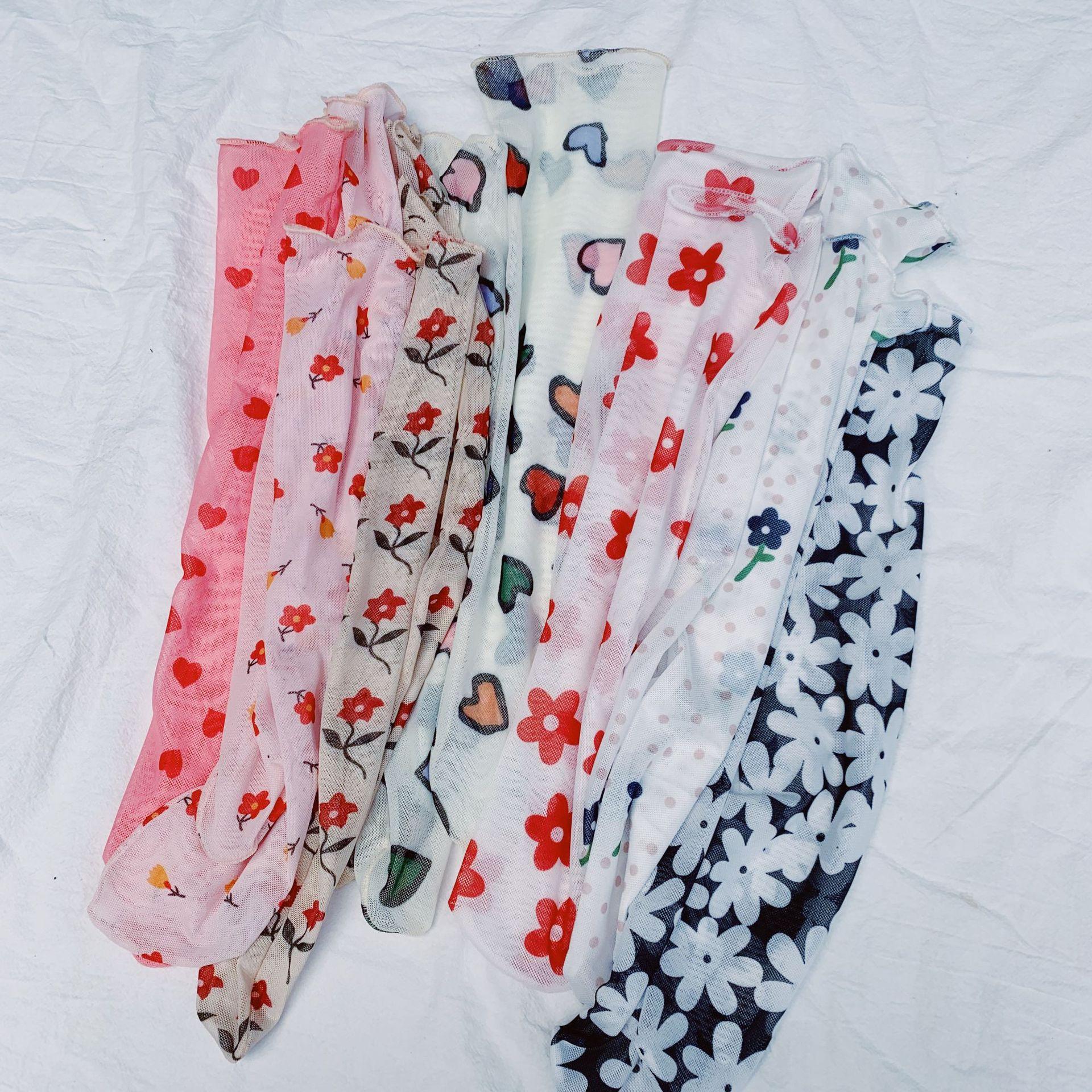 Harajuku Kawaii Funny   Socks   Women Streetwear Korean Style Women Mesh Fishnet   Socks   Cute Sheer Fishnet   Sock   Ladies Pink Sokken