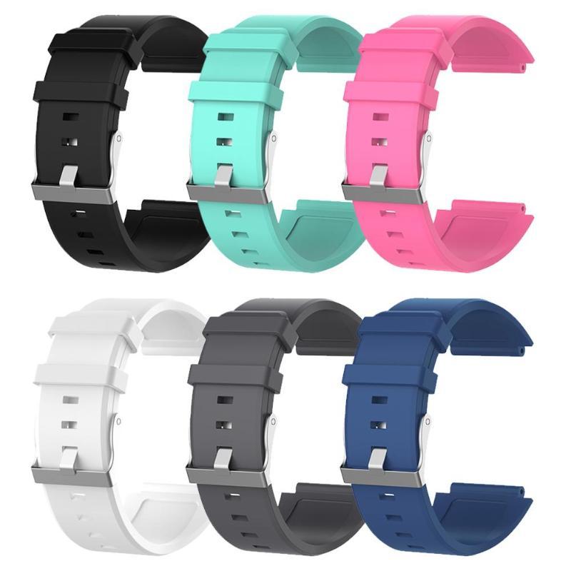 bbc1059640510 ALLOYSEED correa de silicona correa de liberación rápida correa para Sony  SmartWatch2 SW2 banda de reloj inteligente pulsera muñequera reemplazo