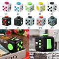 Mini Fidget Cube Finger Toys Puzzles & Magic Cubes Anti Stress Reliever Funny Relax Gifts For Kids 11 colors Desk Spin Magic Cub