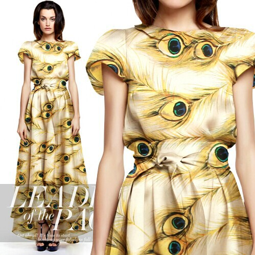 188d7f0acb 135 cm 14mm peacock eyes drukuj silk organza tkaniny na sukni koszula  ubranie spodnie