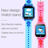 Timethinker M06 Smart Watch Kids GPS with Camera SIM Card SOS Call Location Finder Waterproof IP68 pk Q90 S6 Child Smartwatch