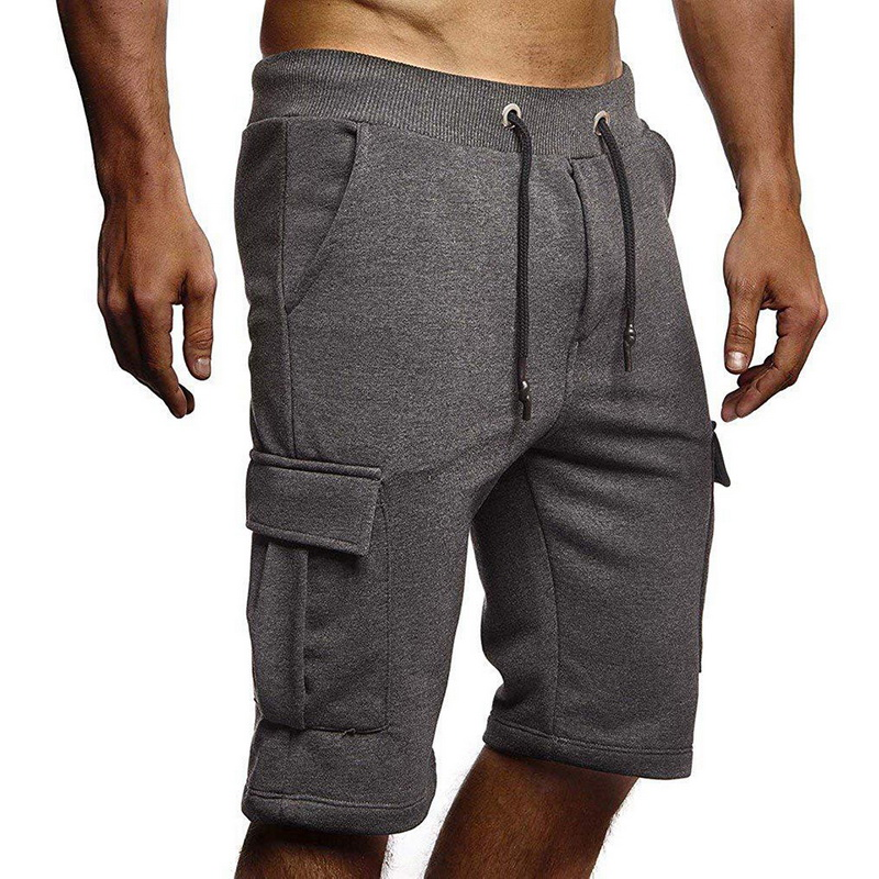 Board Shorts Shorts Mens Bodybuilding Grid Breathable Fast Dry Boardshorts Joggers Knee Length Sweatpants Male Fitness Workout Beach Short Making Things Convenient For The People