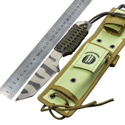 57HRC Strider Blade Fixed font b Knife b font font b Tactical b font font b