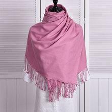 Здесь можно купить  Women Solid Color Warm Scarf Cashmere With Tassels Winter Spring Hot Sale Scarf Women 2017 High Fashion 11 Colors bl796201  Apparel Accessories