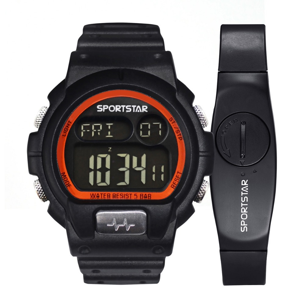 SPORTSTAR HRM PRO 2 sport running watch with heart rate calorie multifunction
