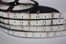 Dwurzędowa dioda LED rgbw Strip 5050 RGB + 2835 biały/ciepły biały DC12V 120 led/m 5 m/partia.