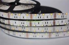 더블 행 RGBW LED 스트립 5050 RGB + 2835 화이트/웜 화이트 DC12V 120 LED/m 5 메터/몫.
