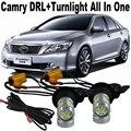 Shinman samsung chip de 20 w wy21w coche cambia a la luz fuerte. o. o. t. a camry luz de marcha diurna drl y frente señales de vuelta de todo en uno