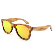 The New Style Of European And American Sunglasses Retro Wooden Glasses Can Be Worn To Drive Travel