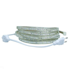 SMD 5050 AC 220V Led Strip Flexible Light 2M/3M/4M/5M/6M/7M +Power Plug,60leds/m Waterproof