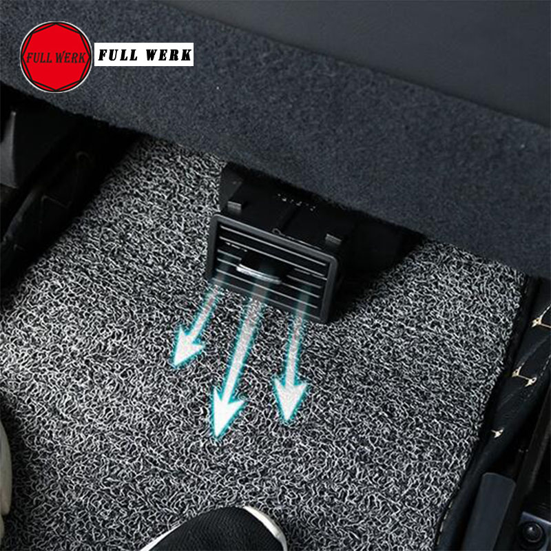 ABS Car Back Seat Air Conditioning Outlet Air Vent Extension Tube Blind for Subaru Forester XV Outback BRZ Modified Accessories стоимость