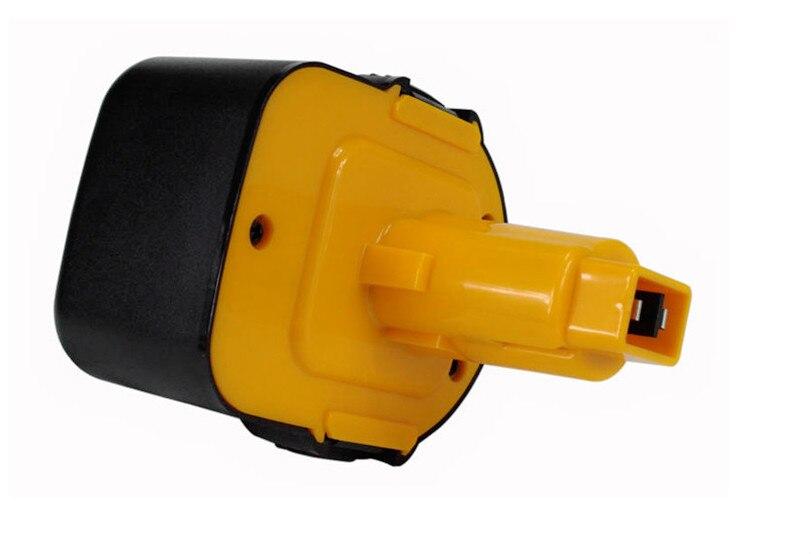 Meilleur 12 V 4500 mAh batterie de remplacement outils électriques Batteries perceuse sans fil pour Dewalt DE9071 2802 K DE9074 DE9075 DC740K Ni-MH