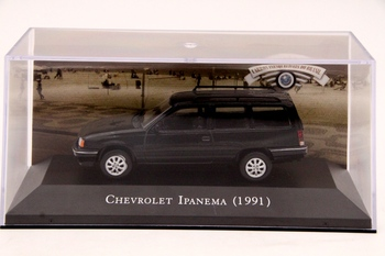 IXO Altaya 1:43 Scale Chevrolet Ipanema 1991 Car Diecast Models Limited Edition Collection Toys Black image