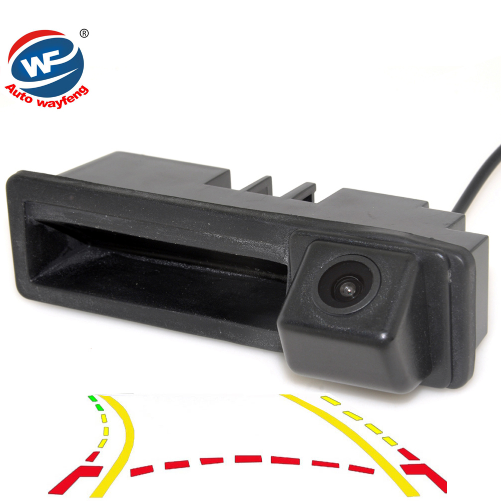 CCD Dynamic Trajectory Trunk handle Rear Camera For Cayenne Audi A4 A4L A6 A6L A7 A5 Q7 Q5 Q3 RS5 RS6 A3 A8L Mirror Rearview Cam black blade ceramic knife set chef s kitchen knives 4 size