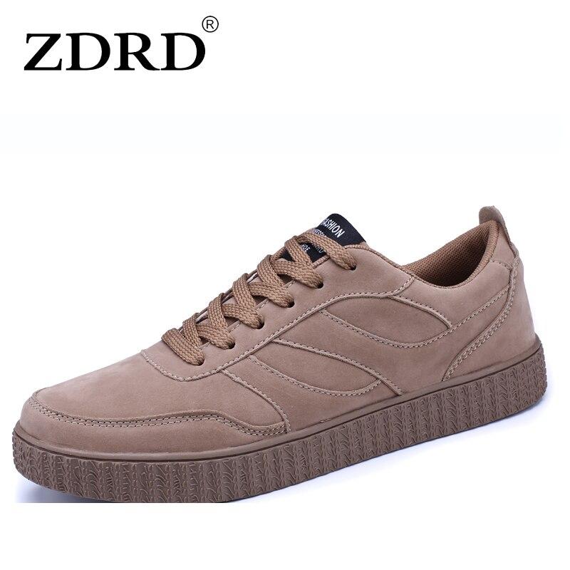 ZDRD Design Men's vulcanize shoes Breathable gum shoes Men ferrari balance shoes male Skate Board shoes Walking Zapatos Hombre