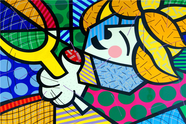 Alice Custom For You Free Shipping RB Painting Wallpapers Cartoon Tennis Suite Girl Custom Canvas Posters Romero Britto Stickers Home Decor #PN#955#
