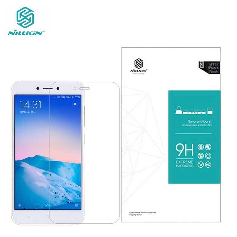 Nillkin Vidro Temperado Xiaomi Redmi Xiaomi Redmi 5A 5A 5A Surpreendente H 0.33 MM Protetor de Tela de Vidro Para Redmi