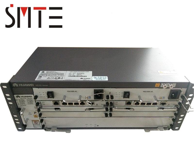 HW NetEngine NE20E-S4 Router CR2M04BASA02 Included Control Board MPU CR2D00MPUE10 DC CR5D00PSUC70 AC CR5D0PSUAC00