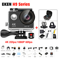 Action camera EKEN H9SE/H9/H9R 2.4G controle remoto Ultra FHD 4 K WiFi 1080 P 60fps esporte câmera de vídeo à prova d' água pro deportiva